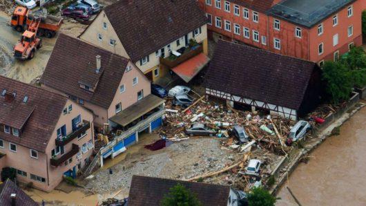 Niemcy - Na południu kraju ogłoszono stan klęski powodziowej -5