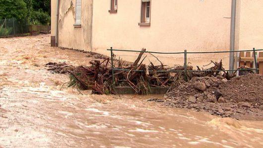 Niemcy - Na południu kraju ogłoszono stan klęski powodziowej -6