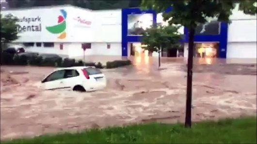 Niemcy - Na południu kraju ogłoszono stan klęski powodziowej -9