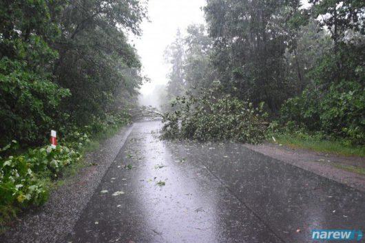 Polska - Gwałtowne burze przeszły w wielu miejscach kraju -3