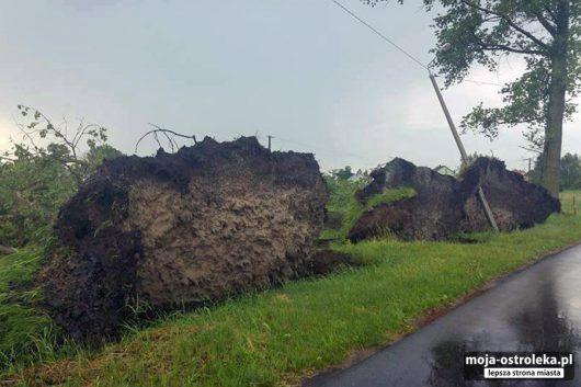 Polska - Gwałtowne burze przeszły w wielu miejscach kraju -5