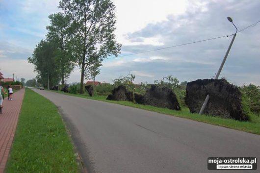 Polska - Gwałtowne burze przeszły w wielu miejscach kraju -6