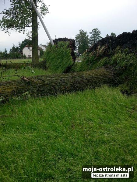 Polska - Gwałtowne burze przeszły w wielu miejscach kraju -7