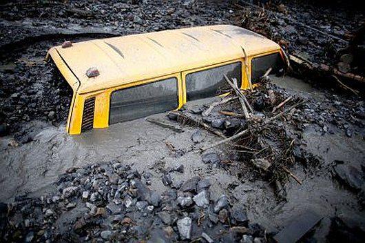 Rumunia - Ulewne deszcze doprowadziły do powodzi -2