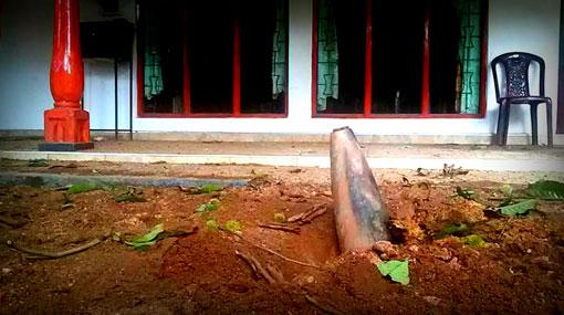 Salawa, Sri Lanka - W jednym z największych w kraju składów amunicji doszło do pożaru i wybuchów -2