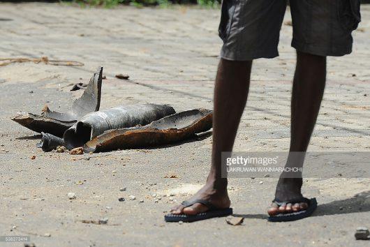 Salawa, Sri Lanka - W jednym z największych w kraju składów amunicji doszło do pożaru i wybuchów -3
