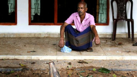 Salawa, Sri Lanka - W jednym z największych w kraju składów amunicji doszło do pożaru i wybuchów -6