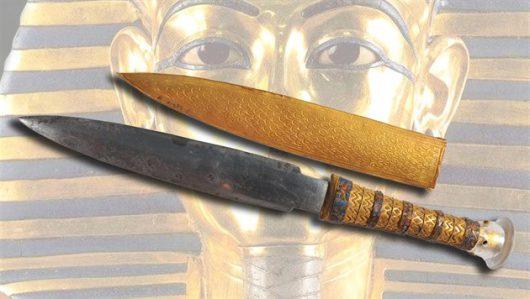 Sztylet faraona Tutanchamona został wykuty z meteorytu