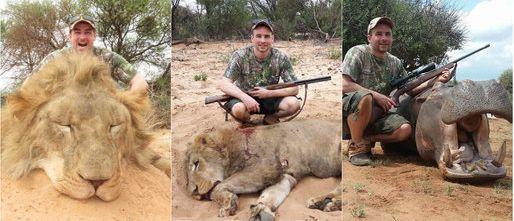 Szwecki polityk chwali się zabitymi zwierzętami w Afryce