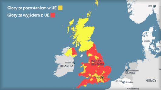 Tak głosowała Wielka Brytania