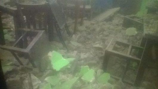 Trzęsienie ziemi - Nikaragua -2