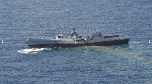 Turcja - Wojsko udostępniło film z ćwiczeń, jak rakieta łamie i zatapia okręt