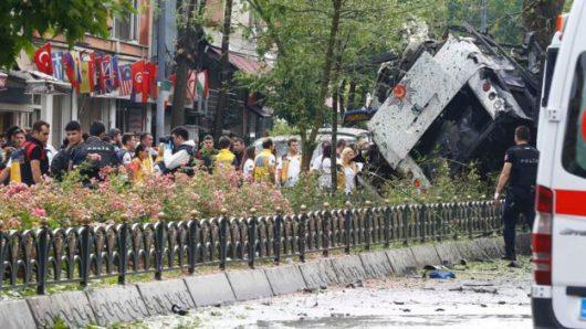 Turcja - Zamach bombowy w centrum Stambułu -2