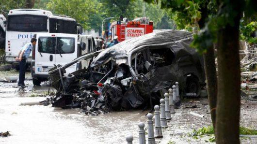 Turcja - Zamach bombowy w centrum Stambułu -3