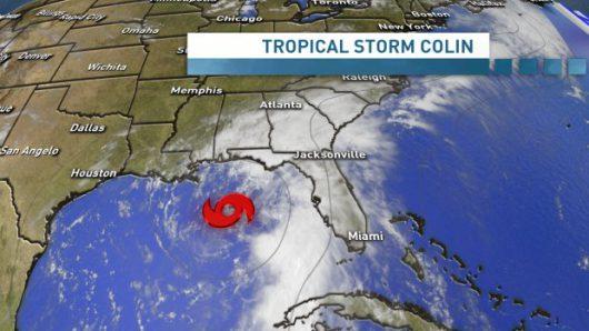 USA - Sztorm tropikalny Colin atakuje Florydę -2