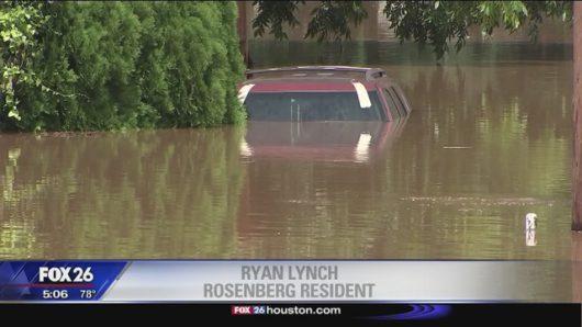 USA - Ulewne deszcze spowodowały powódź w Teksasie -8