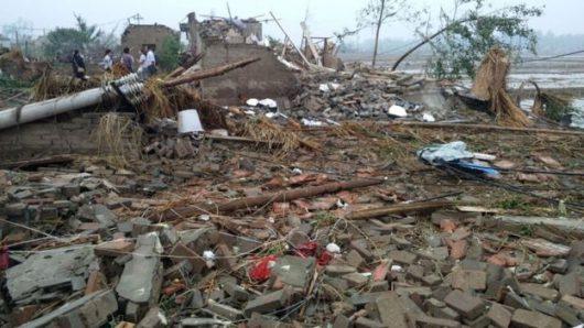 Yancheng, Chiny - Potężne tornado zabiło co najmniej 78 osób -1