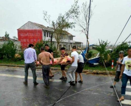 Yancheng, Chiny - Potężne tornado zabiło co najmniej 78 osób -5