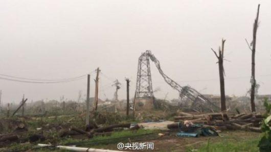 Yancheng, Chiny - Potężne tornado zabiło co najmniej 78 osób -6
