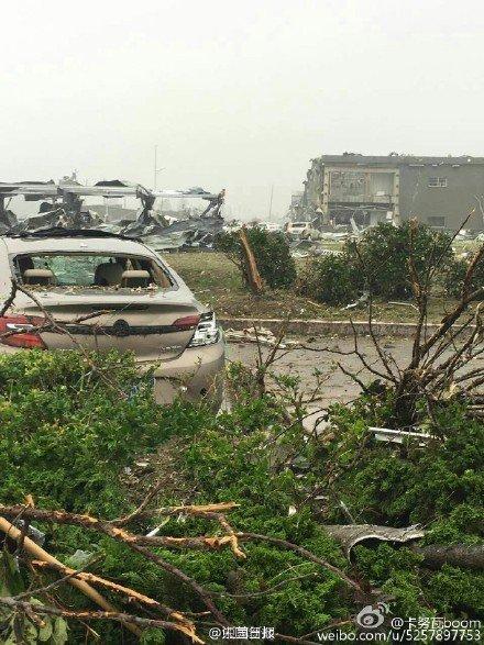 Yancheng, Chiny - Potężne tornado zabiło co najmniej 78 osób -7