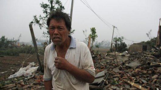 Yancheng, Chiny - Potężne tornado zabiło co najmniej 78 osób -8