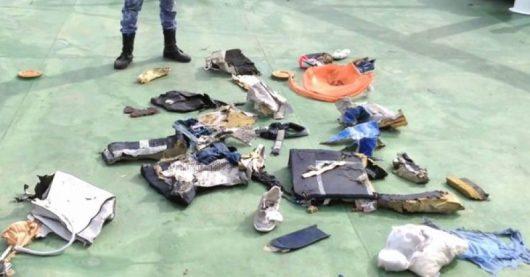 Z rozbitego samolotu linii EgyptAir -1
