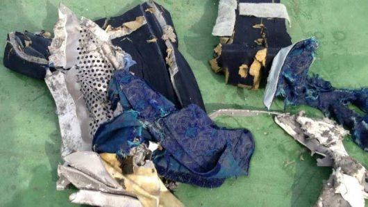 Z rozbitego samolotu linii EgyptAir -2
