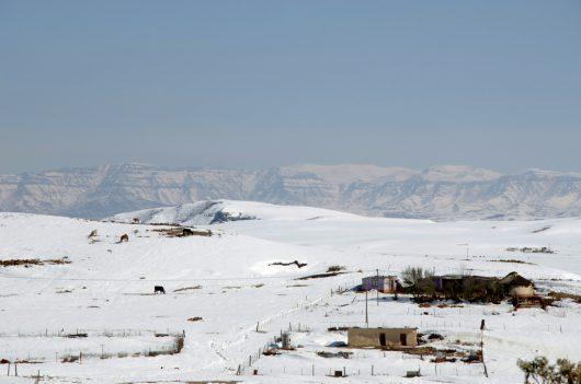 Śnieg i ogromne ulewy w Afryce Południowej -5