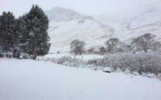 Śnieg i ogromne ulewy w Afryce Południowej
