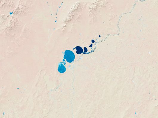 Australia - Spadło tyle deszczu, że po kilkudziesięciu latach w wyschniętych jeziorach pojawia się woda -2