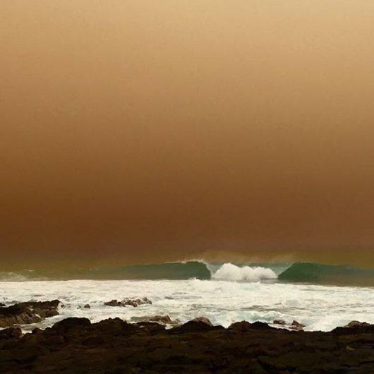 Chile - Pył znad pustyni dotarł do miast -1