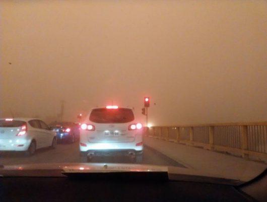 Chile - Pył znad pustyni dotarł do miast -2