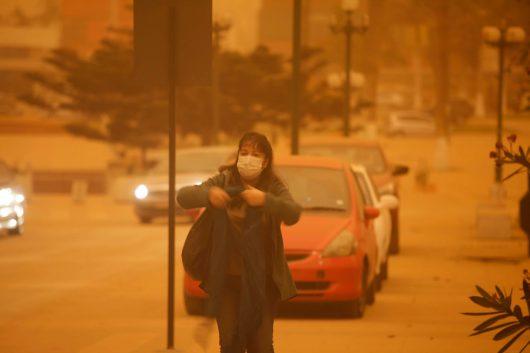 Chile - Pył znad pustyni dotarł do miast -4