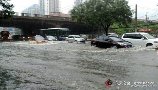 Chiny - Pekin sparaliżowany, pada bez przerwy od kilku dni -10
