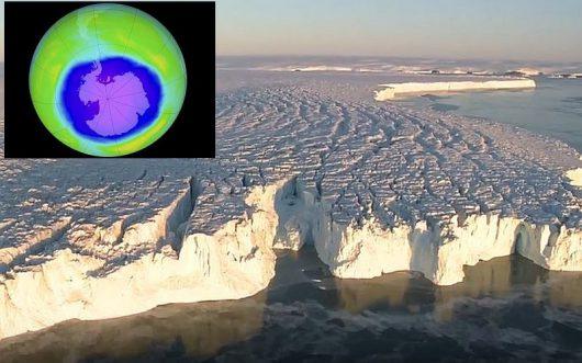 Dziura ozonowa staje się coraz mniejsza 2