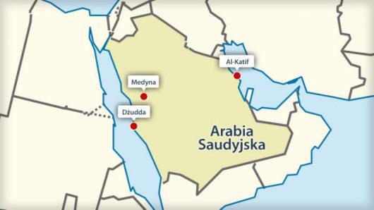Eksplozje w trzech miastach Arabii Saudyjskiej