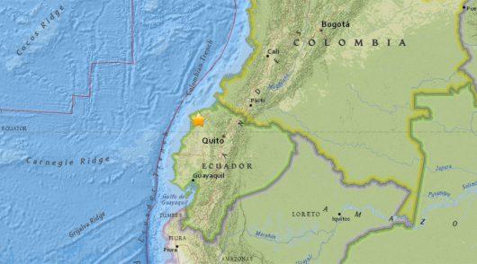 Ekwador - Dwa trzęsienia ziemi o sile 5.8 i 6.3 w skali Richtera -3