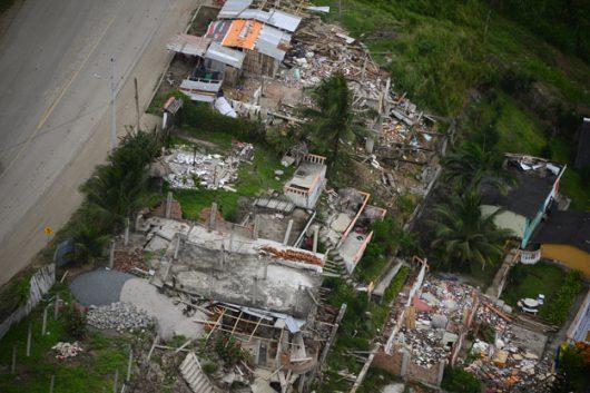 Ekwador - Dwa trzęsienia ziemi o sile 5.8 i 6.3 w skali Richtera