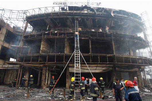 Irak - W zamachu w Bagdadzie zginęło co najmniej 213 osób -1