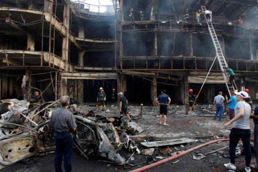 Irak - W zamachu w Bagdadzie zginęło co najmniej 213 osób -2
