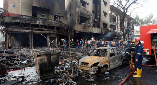 Irak - W zamachu w Bagdadzie zginęło co najmniej 213 osób -3