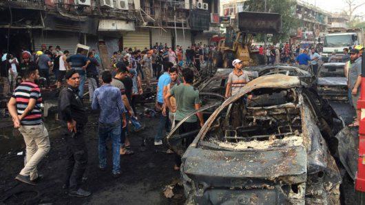 Irak - W zamachu w Bagdadzie zginęło co najmniej 213 osób -5