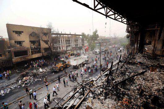 Irak - W zamachu w Bagdadzie zginęło co najmniej 213 osób -6