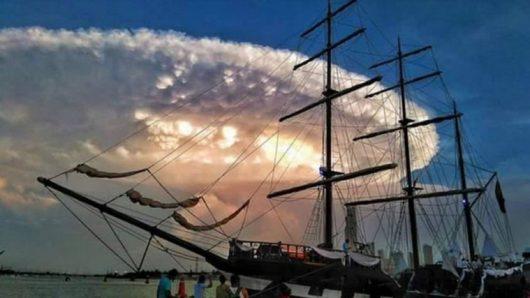 Kolumbia - Niezwykłe chmury -1