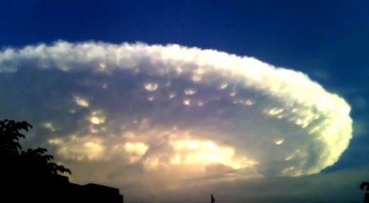 Kolumbia - Niezwykłe chmury -2