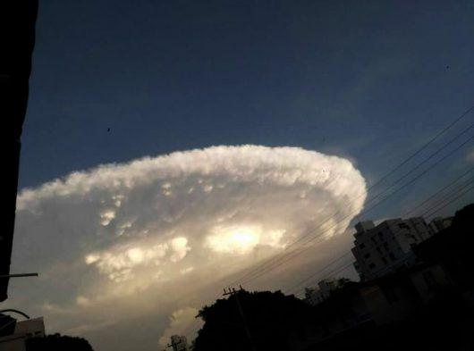 Kolumbia - Niezwykłe chmury -3
