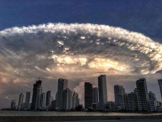 Kolumbia - Niezwykłe chmury -4