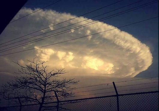Kolumbia - Niezwykłe chmury -5