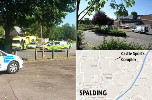 Napastnik zastrzelił 3 osoby na basenie w Spalding w Wielkiej Brytanii