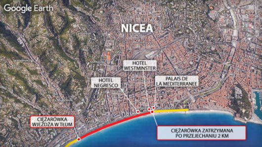Nicea, Francja - Ciężarówka wjechała w tłum ludzi na promenadzie -5